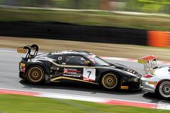 Lotus_Porsche (Mark A Lacey) Tags: car race racecar automobile racing gt brandshatch kevinriley blancpain lotusevoragte garethdowning