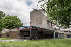 The Barge Pole - Thamesmead (James D Evans - Architectural Photographer) Tags: london architecture concrete pub modernism peabody brutalism modernist brutalist publichouse redevelopment thamesmead londonarchitecture thamesmeadsouth thebargepole peabodylondon peabodyhomes
