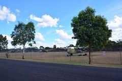DSC_0932 (LoxPix2) Tags: clouds vintage landscape airport aircraft australia queensland nomad caribou oakey loxpix australianarmyflyingmuseum