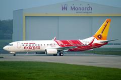 AIR INDIA EXPRESS B737-800 VT-GHC (Dave707) Tags: airplane airport birmingham aircraft jet aeroplane airline boeing airliner 737 b737 737800 b737800 bhx 738 b738 elmdon airindiaexpress egbb vtghc