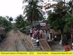 Malansad Station (alcogoodwin) Tags: station philippines transport railway trains railways bicol luzon stations philippinenationalrailways pnr philippinerailwayshistoricalsociety malansad