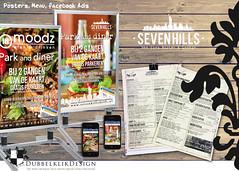10 sevenhills moodz park diner (gabrielgs) Tags: poster logo design graphicdesign flyer concept vormgeving ontwerp grafischevormgeving gabrielschoutendejel