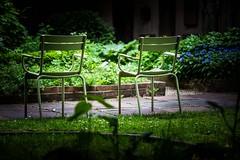 Les chaises de Strasbourg. (Bouhsina Photography) Tags: france green canon garden photographer lumire seat centre strasbourg sets ville chaises moroccan historique vertes ef70200 vides bouhsina 5diii bouhsinaphotography