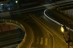 Rastro (Jeff Cruz) Tags: auto street noche calle fantasma