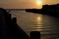 Estela. (juliosabinagolf.) Tags: sunset costa sol mar agua nikon amanecer nikkor serenidad comunidadespaola d3300