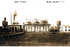 Gas Plant, Blue Island (Norman Rexford) Tags: mgp blueisland bihs manufacturedgasplant publicserviceco
