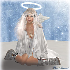Snowangel Alea (Alea Lamont) Tags: winter look angel skins avatar fair pale blond lamont alea ndmd