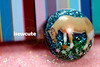 one of a kind glitter dome ring with mini horse by isewcute (isewcute) Tags: november flowers blue original ohio horse cute green glitter modern design miniature artist handmade unique oneofakind jewelry ring pony dome kawaii resin monday equestrian cyber horselover eatinggrass resincrafts isewcute makingresinjewelry