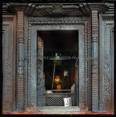 The Final Mystery (designldg) Tags: door nepal india heritage mystery architecture square temple faith religion culture soul devotion varanasi nepalese shiva hindu hinduism kashi ganga ganges benaras uttarpradesh  indiasong lalitaghat kathwalatemple