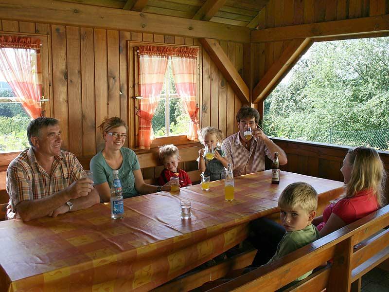 Ferienhof Hausmann - Familientreffen im Gartenhaus