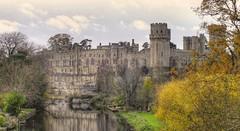 Warwick Castle (nilacop) Tags: castle medieval drawbridge moat warwick fortress portcullis battlements