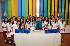 Noviembre 25 - Certificación alumnas V sec.