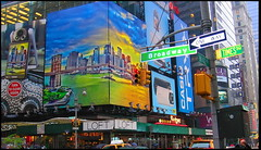 A Picture of New York (Pensioner Percy) Tags: usa newyork broadway cruising po usavacation poarcadia cruisetonewyork