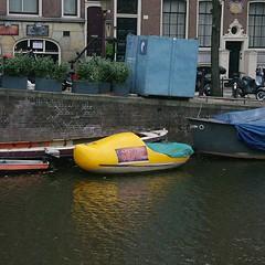 amsterdam bateau paysbas sabot