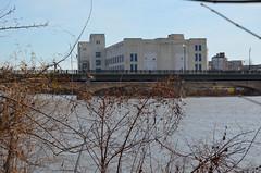 2011-11-25 (116) Danville VA (JLeeFleenor) Tags: bridge river photography virginia photo photos va textiles destroyed riverwalk dams bankrupt cottonfabric danvillevirginia danriver danvilleva danrivermills