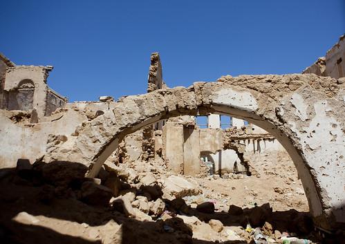 Former Ottoman Empire House Ruin in Berbera Somaliland