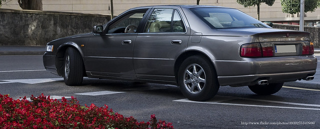 2001 seville cadillac sts