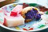 365-168 Dango Sweet Potato Manju (cassaendra) Tags: cuisine japanese sweetpotato dango chichi manju