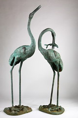 5. Pair of Garden Ornaments