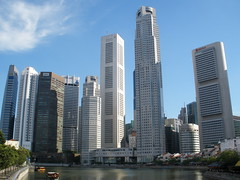 Singapore's Skyline (Keith Mac Uidhir  (Thanks for 3.5m views)) Tags: plaza blue sky sun sunlight white water sunshine skyline architecture modern clouds marina river square asian bay boat singapore asia asien day commerce afternoon skyscrapers district south sunny quay east clear business company commercial quarter government singapour asie cbd financial singapur clarke aasia asya  singapura raffles azia azi singaporean sia     chu    szingapr   zsia      doubleniceshot singgapur