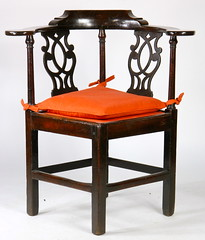 73. Chippendale Corner Chair