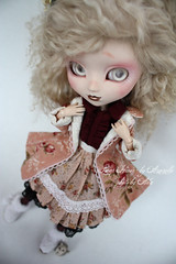 Winter swap with Azazelle (Ala) Tags: doll little sewing clothes addictions swap mohair pullip ambroisine azazelle