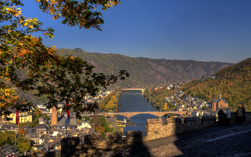 Postcard from Cochem, Germany