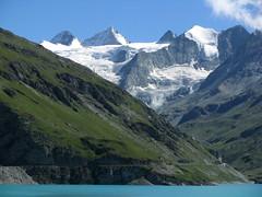 See / Lac / Lake / Stausee : Lac de Moiry im Val d`Anniviers im Kanton Wallis / Valais in der Schweiz (chrchr_75) Tags: lake lago schweiz switzerland see suisse swiss lac august reservoir christoph svizzera 2008 wallis valais depsito jrvi stausee  rservoir suissa s serbatoio zbiornik 0808 kanton chrigu rezervor chrchr reservatrio kantonwallis  hurni speichersee chrchr75 chriguhurni kantonvalais hurni080813 albumstauseeninderschweiz rezervoar albumstauseenimkantonwallis