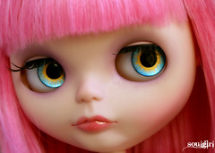 Preview of my latest custom girl, Pixie ^^