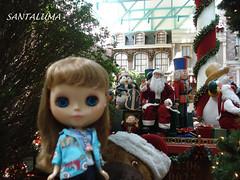 E lá vem o trenzinho de Papai Noel! diz Iani!1