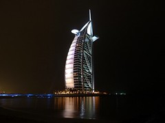 White Burj al Arab - Unusual (Sir Francis Canker Photography ) Tags: world trip travel blue panorama reflection tower art tourism monument skyline architecture night skyscraper island desert muslim islam dune uae middleeast landmark visit icon tourist best palm arabic emirates burjalarab nocturna desierto lightning arabian grattacielo thunder unitedarabemirates impressive gcc islamic jumeirah persiangulf duabi rascacielos wolkenkratzer lucena tallestbuilding emea gratteciel burjdubai        sirfranciscankerjones  7starshotel tz10 burjkhalifa zs7 pacocabezalopez