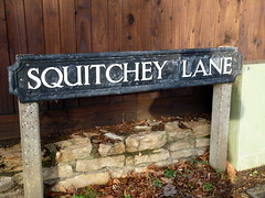 Squitchey Lane, Summertown, Oxford * (Dave_S.) Tags: road street old uk england english strange sign ancient funny britain name united great north kingdom plate historic odd oxford lane gb british unusual oxfordshire nameplate englsih summertown squitchey squitcheylane
