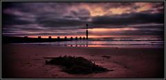 6 (19vasko76) Tags: uk sea sky sun sunrise sand december dorset bournemouth 2011 plaża piasek