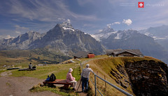 Travelogue - Honeymoon in Switzerland #361 (kuantoh) Tags: travel mountains alps train landscapes nikon hiking first rail hike grindelwald lauterbrunnen valleys travelogue sceneries d700