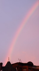 Rainbow over Columbia Heights 2 (Mr.TinDC) Tags: sky weather washingtondc dc rainbow colorful atmosphere rainbows columbiaheights roygbivrowhouses