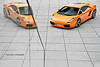 One and a half Lambo (Keno Zache) Tags: orange reflection photography hp power photoshoot treppe lamborghini luxury spiegelung coupe gallardo sportcar keno zache
