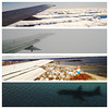 Landing at Logan Airport (zanderwhite) Tags: travel boston plane coast flying massachusetts newengland landing loganairport tych iphone4s