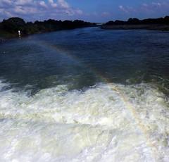 """Rainbow - Spraybows -VIBGYOR (Kalai """"N"""" Kovil) Tags: n s fujifilm 4000 kalai kovil kallanai"""
