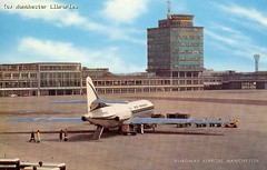 Air France Caravelle at Ringway Airport, Manchester, 1972 (archivesplus) Tags: plane airplane manchester flying airport aviation hangar terminal aeroplane planes airfrance airtravel manchesterairport airportterminal ringwayairport