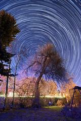 Backyard Astronomy: Searching for Quandrantids (Fort Photo) Tags: nature shower star nikon trails astrophotography astronomy meteor startrails meteors circumpolar d700 2012a quandrantids
