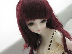 Holly2 - New wig? (Onizel) Tags: bjd msd yingying loongsoulyingying