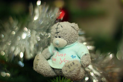 Pukatukas is sitting on the Christmas tree (KaterRina) Tags: bear tree toy christmastree oneobject365daysproject pukatukas