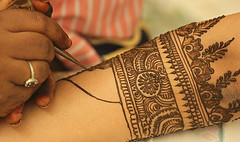 Intricate application (mehlam786) Tags: family november henna hina mehndi nikah 2011 yasmeensnikah