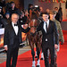 Steven Spielberg, Jeremy Irvine War Horse - UK film premiere held at the Odeon Leicester Square - Arrivals. London, England