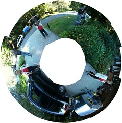 Wendy and Bruce_stereographic (wade in da water) Tags: family people canada nature britishcolumbia pacificnorthwest westcoast parksville picnik stereographic beautifulcapturegroup wadeindawater amemoryofourdailylife memorycornerportraits iphone3gs