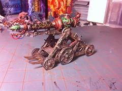 Warp Lightning Cannon (benjibot) Tags: painting fantasy warhammer skaven