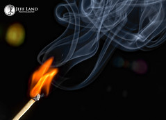 Day 10-366 Match (Jeff Land) Tags: night project dark photography photographer smoke days flame match 365 warwickshire stratforduponavon 366 canonef2470mmf28l 52weeks canoneos5dmarkii jeffland wwwjefflandphotographycouk