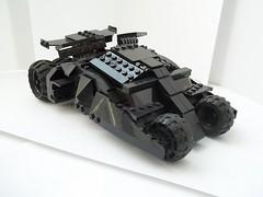 Batman's Tumbler (Louie Tommo) Tags: lego batman tumbler