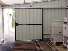 Lesage Structure - FABRICATION - Porte coulissante (notre galerie photos) Tags: structure aluminium lesage profilé diversaclasser
