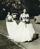 1952 May Queen Mary Bailey and page Julia Snowden